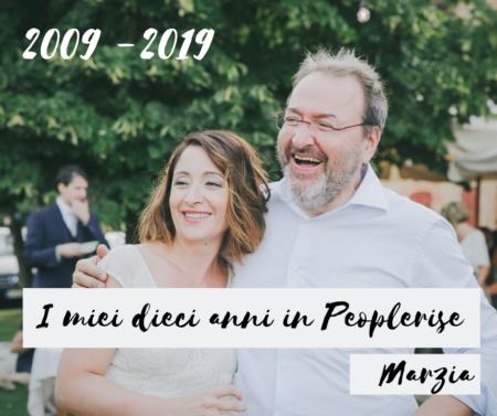 2009 -2019 peoplerise celebrazione